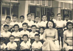 Primary 1 pupils of Parry Ave Boys School 1958